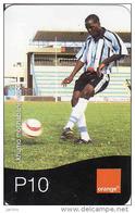 Botswana, Orange, Football, P10, - Botswana