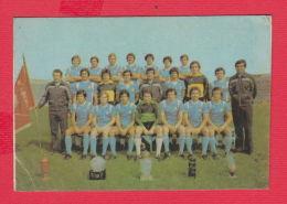 K1812 / 1980  SPORT TOTO Lottery Lotteria SPORT PFC Levski  Sofia Soccer Calcio Football Calendar Calendrier Bulgaria - Calendars