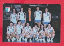 K1816 / 1979 SPORT TOTO Lottery Lotteria SPORT FC LEVSKI Basketball Basket-ball Pallacanest Calendar Calendrier Bulgaria - Calendars