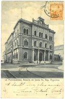 CPA ROSARIO DE SANTA FE - La Municipalidad - Ed. R. Rosauer - Argentine