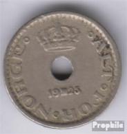 Norwegen KM-Nr. : 383 1925 Sehr Schön Kupfer-Nickel 1925 10 Öre Wappen - Norwegen