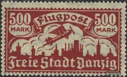 Gdansk 137 Unmounted Mint / Never Hinged 1923 Airmail - Danzig