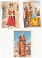 Lot De 3 Chromos/images - Blédine - Moyen âge - Autres