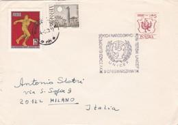 BUSTA VIAGGIATA RACCOMANDATA  - POLONIA - 1969 - 1944-.... Repubblica