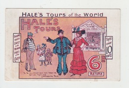 ENGLAND PUBLICITE / HALE'S TOURS OF THE WORLD - Advertising