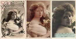 Artiste Femme 1900 Reutlinger - Mabel Love X 3 - Artistes