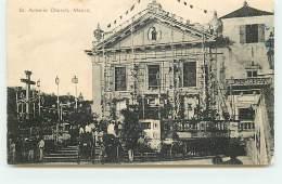 CHINE - St Antonio Church MACAO - Chine