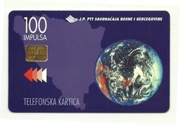 Bosnia Erzegovina - Tessera Telefonica Da 100 Units T508, - Bosnia