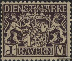 Bavaria D24 With Hinge 1916 State Emblem - Bavaria