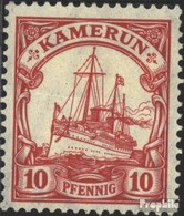 Kamerun (Dt. Kolonie) 22a Gestempelt 1906 Schiff Kaiseryacht Hohenzollern - Kolonie: Kamerun