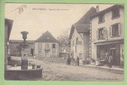 MONTFERRAT : Quartier De La Fontaine, Cholat Boulanger. Dos Simple. 2 Scans. Edition Vialatte - Other Municipalities