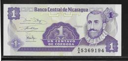 Nicaragua - 1 Centavo - Pick N°167 - NEUF - Nicaragua
