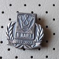 8. March International Women's Day Pin - Associations