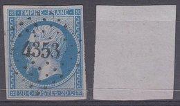 PC 4353 Sur 14 - PLANCHER-LES-MINES (Haute-Saône) - Marcophilie (Timbres Détachés)