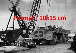 Reproduction D'une Photographie D'un Camion Berliet 700 Cv - Reproductions