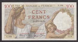 100 Francs Sully Type 1939 Du 22-6-1939 En SUP - Voir Descriptif - 100 F 1939-1942 ''Sully''