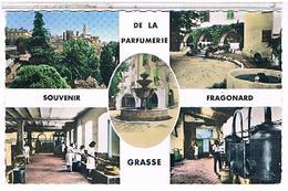 06 CPA    9X 14 GRASSE PARFUMERIE   FRAGONARD - Grasse