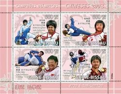 GUINEA BISSAU 2009 - Judo, Taekwondo Beijing Olympics - YT 2764-7 - Zomer 2008: Peking