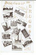 CPA - Carte Postale -BELGIQUE -  Brugge- Souvenir De Bruges -S569 - Brugge