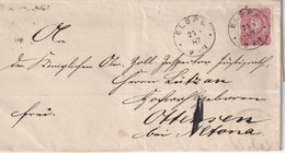 ALLEMAGNE  1887 LETTRE DE ELSPE - Germania