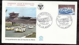 CINQUANTENAIRE DES 24 HEURES DU MANS . 02 JUIN 1973 . LE MANS . - 1970-1979