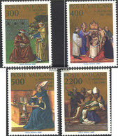 Vatikanstadt 907-910 (complete Issue) Unmounted Mint / Never Hinged 1987 Holy. Augustinus - Vatican
