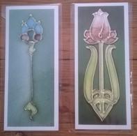 Lot De 2 Cartes Postales Neuves TAGGART TYLE Museum Art Nouveau - Belle-Arti