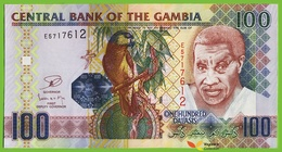 Voyo GAMBIA 100 Dalasis ND/2013 P29b(2) B227b E UNC - Gambie