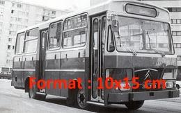 Reproduction D'une Photographie D'un Ancien Bus Citroen Parisien - Reproductions