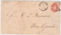 "Sachsen, 1867, K2 "" EBERSBACH "", R!  , #a388 - Sachsen"