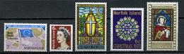 1971 - ISOLA NORFOLK -  Mi. Nr. 123+128/131 - NH - (CW4755.17) - Isola Norfolk