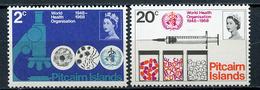 1971 - PITCAIRN -  Mi. Nr. 95/96 - NH - (CW4755.17) - Isola Norfolk