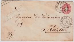"Sachsen, 1867, Selt. K2 "" DAHLEN "" Klar , #a390 - Sachsen"