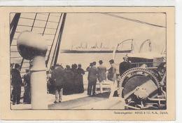 Reklamekarte Für Transatlantik-Reisen - Generalagentur Meiss, Zürich - 1914           (P-149-71130) - Paquebots