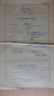 P1009.17  Hungary  Kiscsákó - Horse Pferd Cheval -Fedeztetési Jegy -Négus -Nóniusz 35-5  1943  Süle Péter - Rechnungen