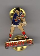 Joli Pin's Epoxy Double Attaches RUGBYMAN Rugby à 13 / RUGBY XIII - Rugby