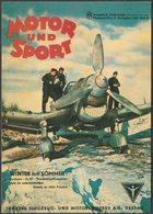 Advertising - Junkers JU87, Motor Und Sport, 2004 - Vintage Ad Gallery Postcard - 1939-1945: 2nd War