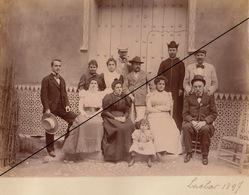 Foto Espana Espagne 1897 Granada Andalucia Album Fabrica Lachar El Duque De San Pedro De Galatino Azucarera - Luoghi