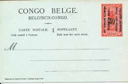 RUANDA URUNDI 1922 ISSUE STIBBE 14 UNUSED - Stamped Stationery
