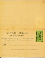 RUANDA URUNDI 1922 ISSUE STIBBE 15 UNUSED - Stamped Stationery