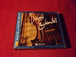 SELECTION DU READER'S DIGEST  °°  65 TITRES  VIOLONS ENCHANTES    3 CD - Music & Instruments
