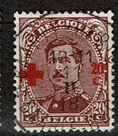 155  Obl  15 - 1918 Croix-Rouge