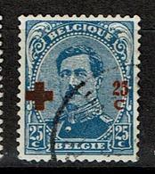 156  Obl  34 - 1918 Croix-Rouge