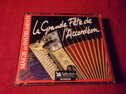 SELECTION DU READER'S DIGEST  °°  66 TITRES  LA GRANDE FETE DE L'ACCORDEON     3 CD - Music & Instruments