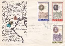 BUSTA VIAGGIATA RACCOMANDATA - POLONIA -  1970 - 1944-.... Repubblica