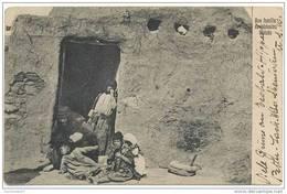 CPA SYRIE - ONEZES - Une Famille De Bédouins à Onézés - Belle Animation - 20/03/1925 - Syrie