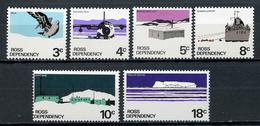 1972 - ROSS DEPENDENCY -  Mi. Nr. 9/14 - NH - (CW4755.17) - Dipendenza Di Ross (Nuova Zelanda)