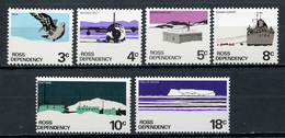 1972 - ROSS DEPENDENCY -  Mi. Nr. 9/14 - NH - (CW4755.17) - Nuovi