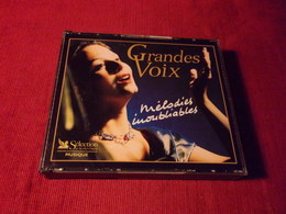 SELECTION DU READER'S DIGEST  °° + 100 TITRES  GRANDE VOIX  MELODIES INOUBLIABLES  5 CD - Music & Instruments