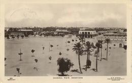308 - 1930 Khartoum General View  TRAVELLED - Sudan